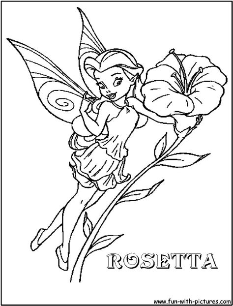 coloring book disney fairies disney rosetta coloring page disney fairies