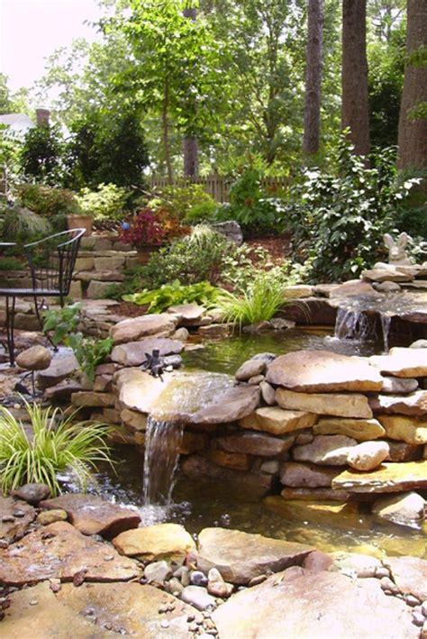 backyard waterfall pond 35 dreamy garden with backyard waterfall tips