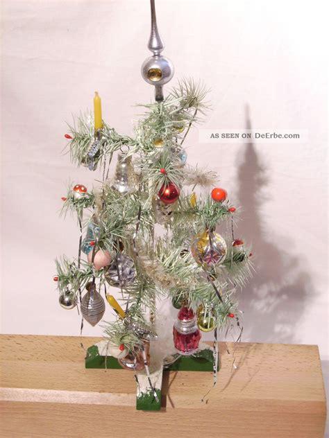 alter weihnachtsbaum federbaum aus th 252 ringen