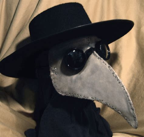 How To Make A Plague Doctor Mask With Paper Mache - plague doctor mask by dellamorteco on deviantart