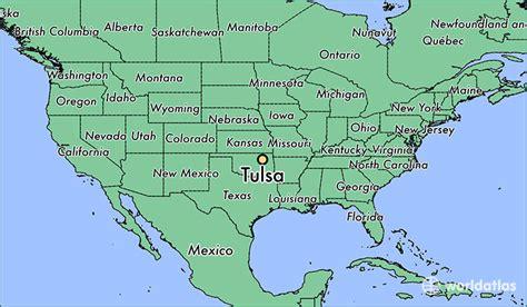 tulsa usa map where is tulsa ok tulsa oklahoma map worldatlas