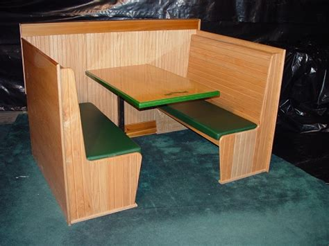 Booth Table by Booth Tables Booth Veneers Pic