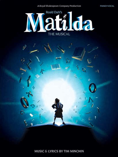 groundhog day vocal selections matilda the musical piano vocal selections songbook