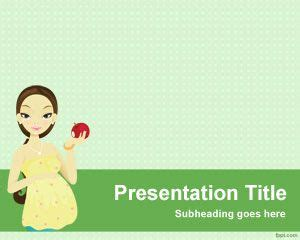 pregnancy powerpoint templates maternity powerpoint template