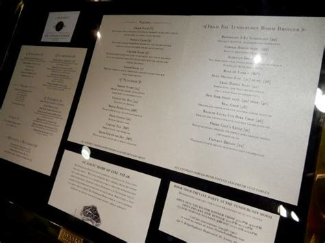 the tenderloin room great variety of dishes picture of the tenderloin room louis tripadvisor