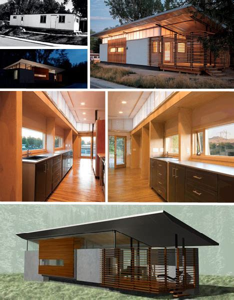 modern mobile homes converting trailers to houses adaptive reuse 15 creative house home conversions