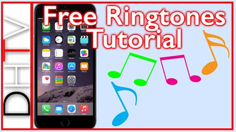 how to get free ringtones for iphone 6s and iphone 6s plus tutorial