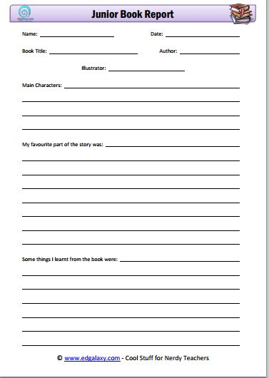 elementary book report form pin printable book report forms elementary students