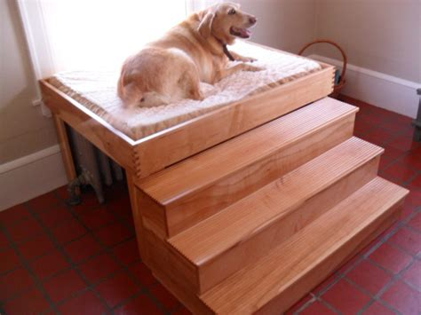 elevated dog bed with stairs red dog beds uk raised dog bed with stairs uk noten