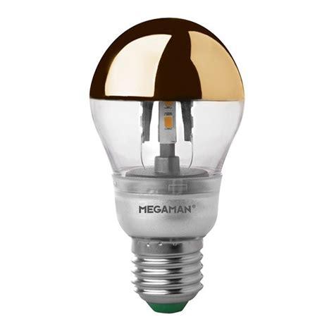 Megaman 5w 2800k Dimmable E27 Crown Brass Led Classic Bulb Megaman Led Light Bulbs