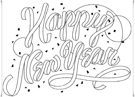 preschool coloring pages new years 2014 new year s eve coloring pages preschool 2014 best