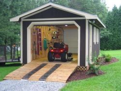 building ramp   outdoor shed plans home
