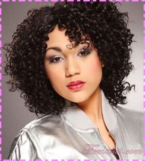 model rambut keriting pendek cantik  mempesona rambut