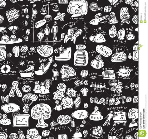 svg pattern not working in firefox business people working seamless pattern black and white