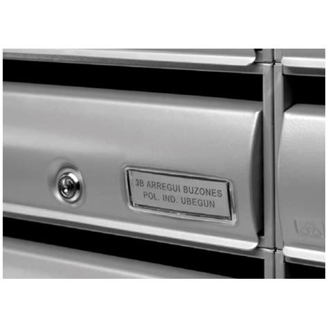 etichette per cassette postali incisione di etichette personalizzate arregui