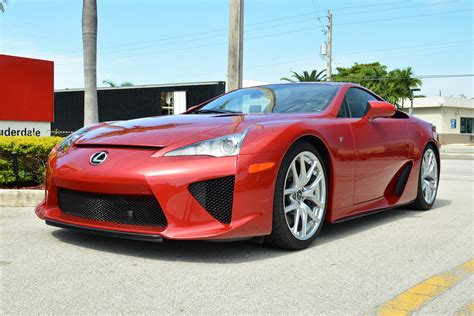 lfa lexus red dark red lexus lfa for sale in the u s gtspirit