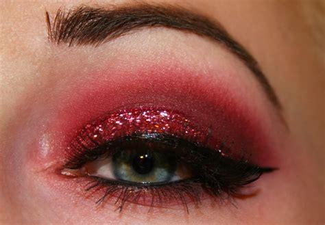 Eyeshadow Glitter enchanted makeup glitter me pink eyeshadow look