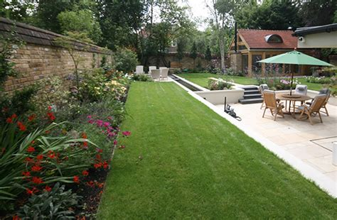 contemporary cottage garden contemporary design in wimbledon sw20