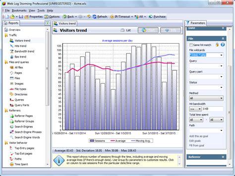 pattern visitor exle web log storming download reviews 100 free download