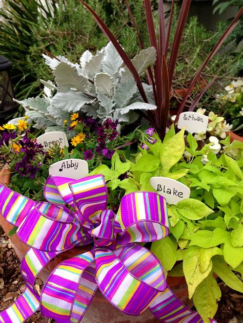 unique mothers day gift idea  birthstone garden