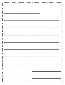 best photos of letter paper with lines free printable