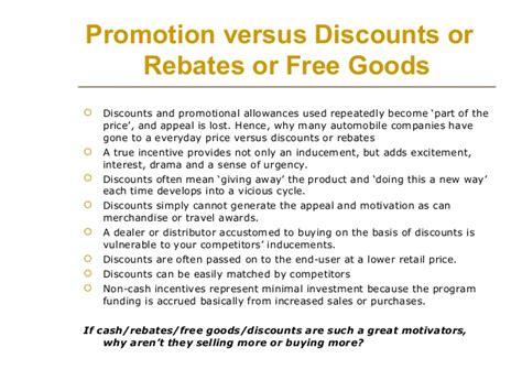 Sales Incentive Program Exles Sales Rebate Agreement Template