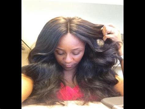 versatile & natural looking sew in with lace closure