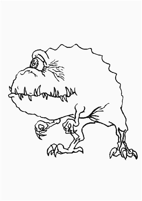 monsters coloring pages coloringpages1001 com