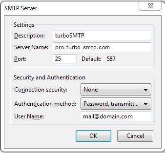 smtp settings smtp mail server professional smtp