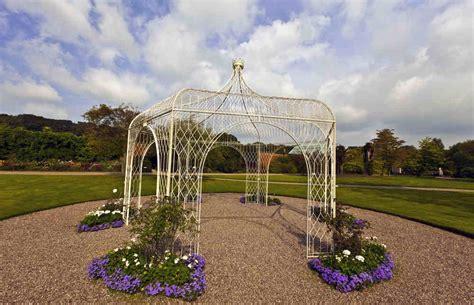 gazebo in ferro battuto gazebo in ferro battuto fascino e stile per il giardino