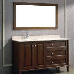 60 Inch Vanity Offset Sink Bathroom Vanities With Offset Sinks Ayanahouse