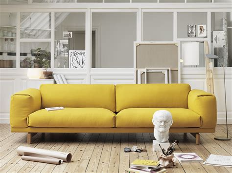 suche sofa buy the muuto rest three seater sofa at nest co uk