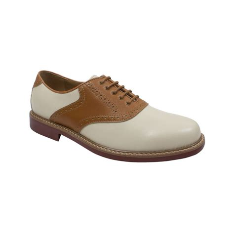 saddle oxfords shoes g h bass co buchanon saddle oxfords in brown for