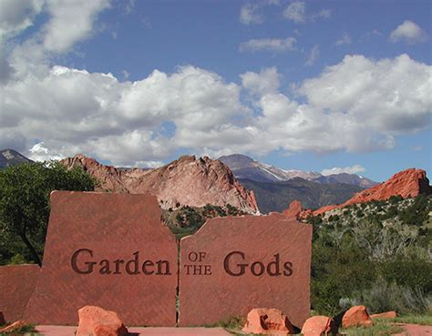 Garden Of And Times Garden Of The Gods Visitor Center