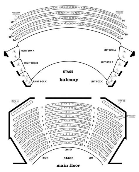 chicago theater floor plan steppenwolf theatre downstairs mainstage seating chart