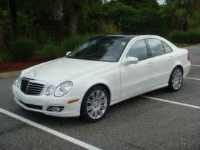 2007 Mercedes E350 For Sale Artic White 07 Mercedes E Class E350 Panoramic For