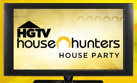 hgtv house hunters enter to host hgtv house hunters house party the savvy student shopper