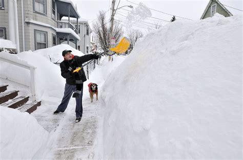 Boston Records 9 Snow Records Boston Has Already Broken This Season