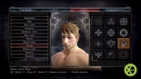 i ll be there characters character creation showing 1 dark souls ii screens show character creator naked class