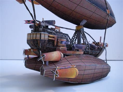 Papercraft Pirate Ship - papercraft airship l z 500 3 by divinewindnsew on deviantart
