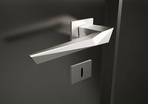 design house brand door hardware origami door handle studioforma product design