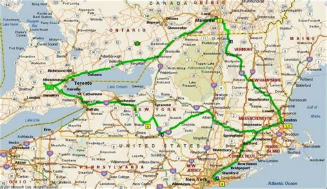 road map of eastern canada east coast canada road trip map