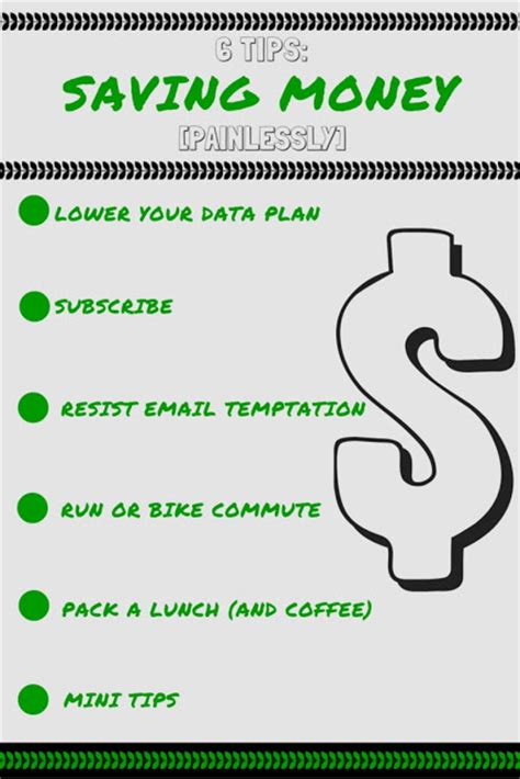 8 Tips On Saving Money For by Six Tips Saving Money Painlessly