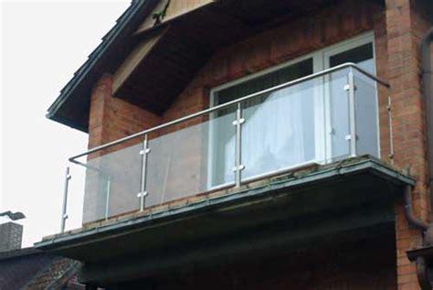 edelstahl balkongeländer mit glas balkongel 228 nder aus edelstahl und glas edelstahlgel 228 nder