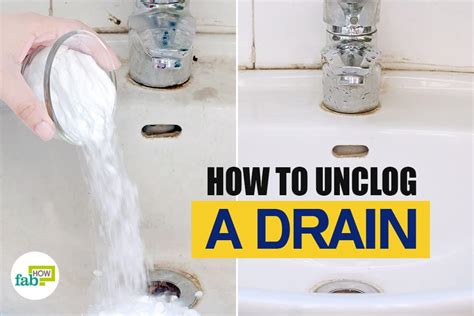 how to unclog a bathroom drain how to unclog a grease clog in the kitchen sink how to