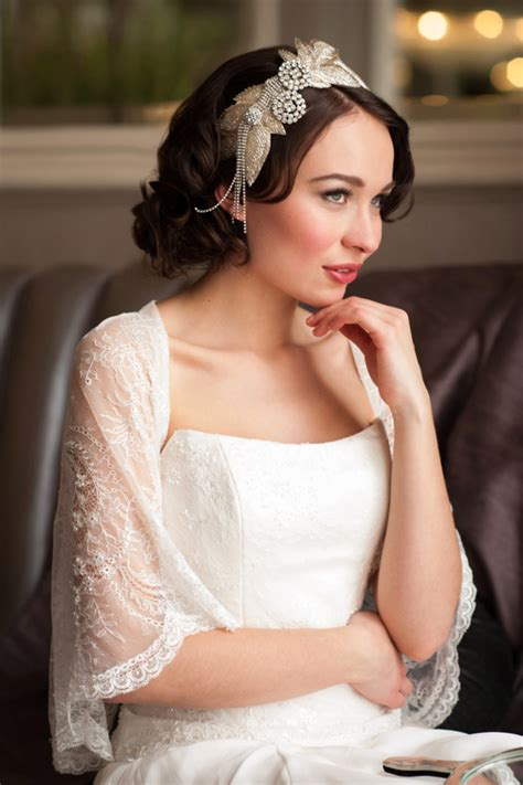 Vintage Wedding Hair Southton by Donna Crain Vintage Inspired Juliet Cap Veils Wedding