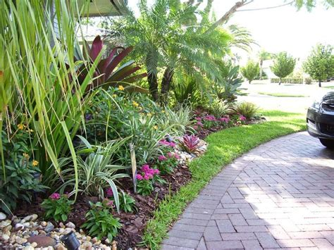florida tropical landscaping ideas front south florida