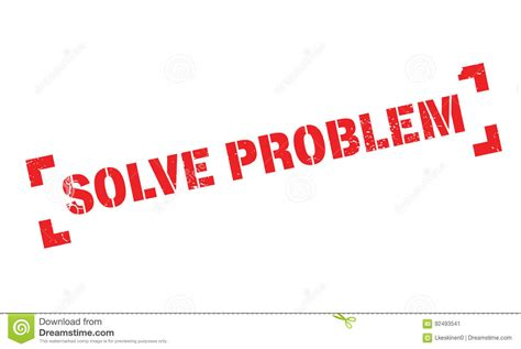 8 problems that can be easily solved by machine learning solve problem rubber st stock vector image of