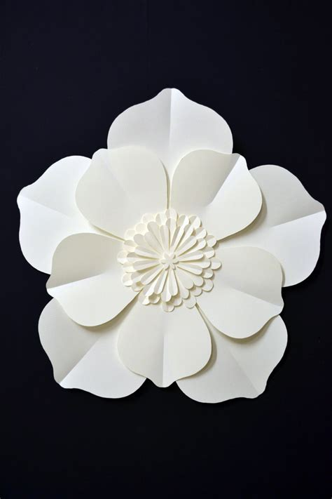 Large Paper Flowers - large paper flower for wedding decoration