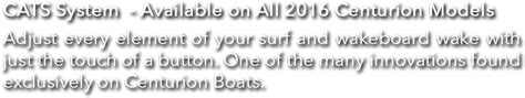 centurion boats cats system centurion and supreme boats boardco